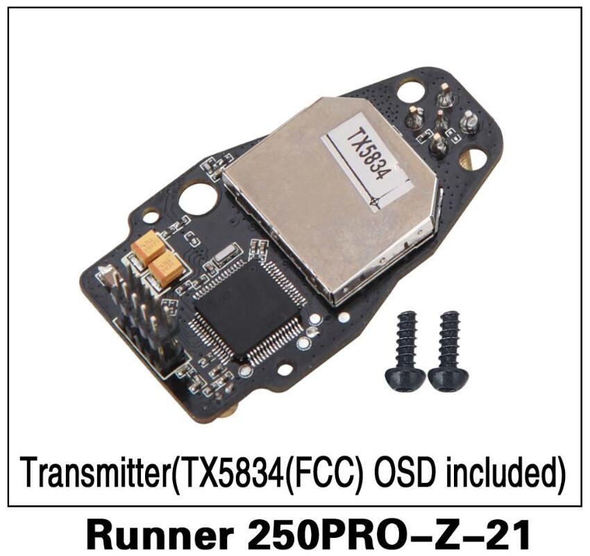 10O% Original Walkera Runner250 PRO GPS RC Quadcopter Parts Transmitter(TX5834(FCC)OSD included) Runner 250PRO-Z-21