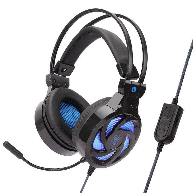 Head Phone Led Lighting Game Headset Professional Gaming Ear