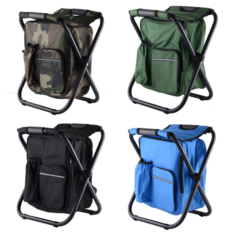 Men's Bags Backpacks Selfless Thinkthendo 2019 New Fashion Foldable Backpack Chair Insulated Cooler Bag For Fishing Camping Picnic Beach