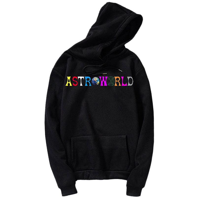 Travis Scott Globe Astroworld Printed Hoodie Tour I Went To Astro World Album Artist Music Merch Custom Pullover Jacket Coat Loo