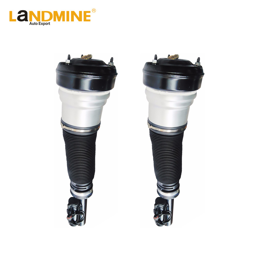 Livraison Gratuite 2 PCS Mercedes Classe S W220 S430 S500 S55 Avant Air Printemps Suspension Air Shock Réglable Air Ride 2203202438