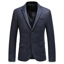 2018 autumn new style suit men's business casual blazers men single breasted coat jacket classics blazers man