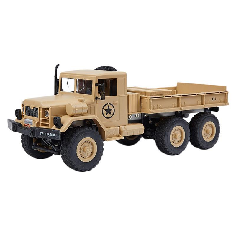 RC Escalade Militaire Télécommande Camion Six-entraînement militaire camion RC Jouet Racing Camion Véhicules Cadeau Jouets
