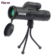 Best Buy Original Piao Yu 8X30 Monocular of High Power Pocket Telescope Night Vision large Eyepiece Zoom Best Outdoor Spotting Scope