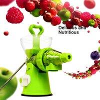 LUCOG Mini Manual Juicer Plastic Multifuctional Fruit Squeezer Hand Juicer Lemon Extractor Machine Blend Fresh Health