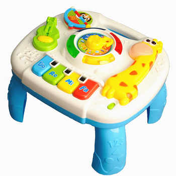 Baby Toys 13-24 Months Musical Games Table Educational M Toys For Baby Brinquedos Para Bebe Oyuncak Baby Boy Toys - DISCOUNT ITEM  30% OFF All Category