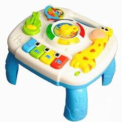 Brinquedos do bebê 13-24 Meses Jogos Musicais Oyuncak Mesa M Brinquedos Educativos Para O Bebê Brinquedos Para Bebe Menino brinquedos