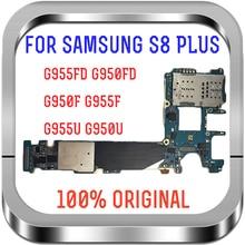Ondersteuning 4G Lte 64Gb Originele Voor Samsung Galaxy S8 G950F G950U G950FD G955F G955U G955FD Moederbord Europa Versie logic Board