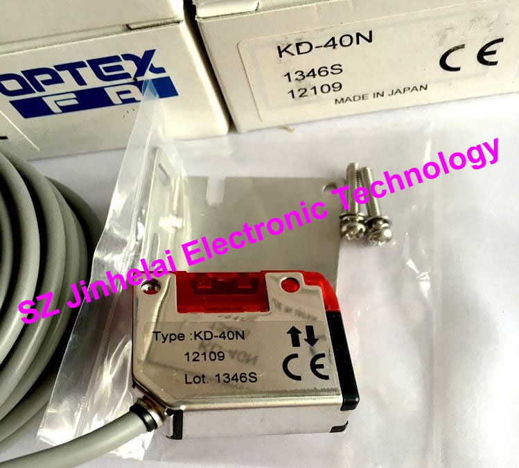 New and original KD-40N OPTEX PHOTOELECTRIC SWITCH Photoelectric sensor philips htl3160b 12