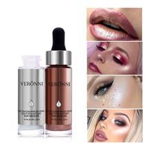 New Face Liquid Highlighter Enhancer Drops Illuminating Drops Concealer Make Up Highlighter Illuminator Brightening Face Makeup