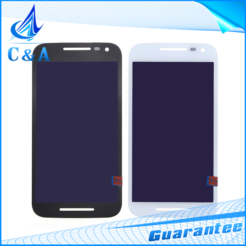 10 pcs free DHL EMS Black White Replacement for Motorola Moto G3 G 3rd Gen LCD Display Screen with Touch Digitizer Assembly