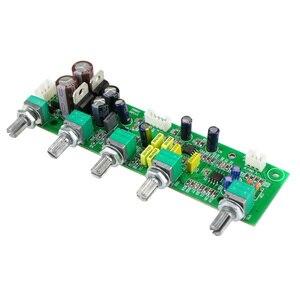 Image 2 - GHXAMP NE5532 Subwoofer Voorversterker 2.1 Voorversterker Toon Boord Treble Bass Ultra lage frequentie Onafhankelijke Aanpassing Dual AC12V 1 pc