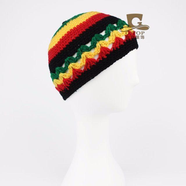 Tienda Online Nueva Jamaica Rasta Bob Marley sombrero jamaicano ...