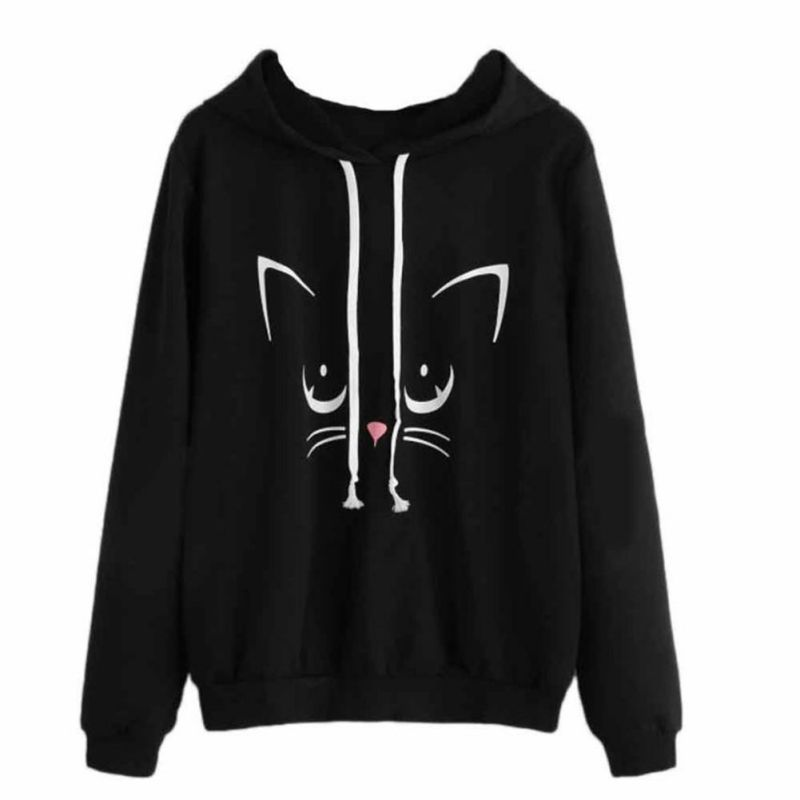Dependable Fashion Women Casual Long Sleeve Hoodie Jumper Pullover Sweatshirt Tops Shirt Street Price Women's Clothing