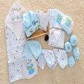 21 Peça Dom Conjuntos Recém-nascidos Do Bebê Menino & Da Menina Do Bebê Roupas de Inverno do Outono do Algodão Grosso Moda Character Manga Comprida lnfant conjuntos