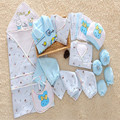 21Piece Newborn Gift Sets Baby Boy & Baby Girl Clothes  Autumn Winter Cotton Thick  Fashion Character Long Sleeve lnfant Sets