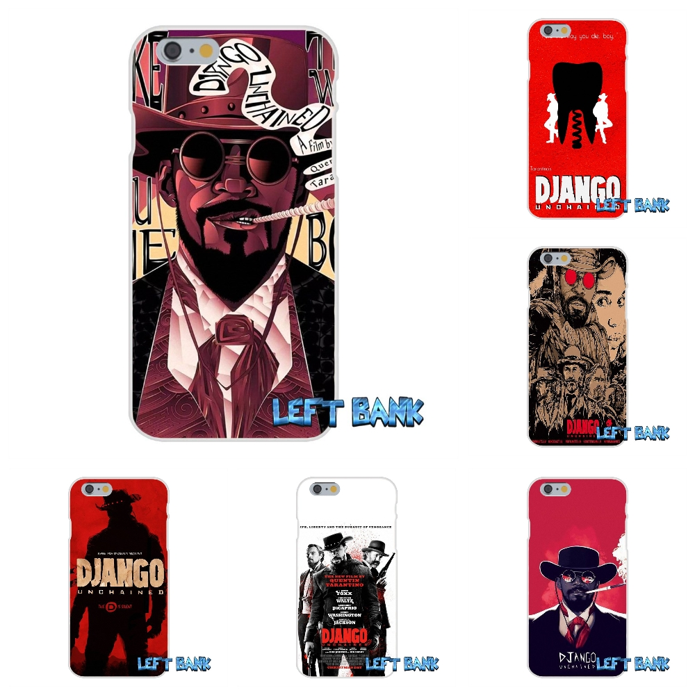 Django Unchained 2013 Movie Soft Silicone TPU Transparent Cover Case For Samsung Galaxy Note 3 4 5 S4 S5 MINI S6 S7 edge image