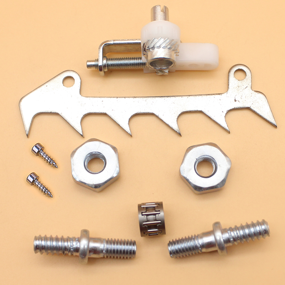 Chain Tensioner Adjuster Bumper Felling Dog Screw Nuts Studs Fit STIHL MS250 MS230 MS210 025 023 021 Chainsaw Replacement PartsChain Tensioner Adjuster Bumper Felling Dog Screw Nuts Studs Fit STIHL MS250 MS230 MS210 025 023 021 Chainsaw Replacement Parts