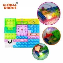 Circuito Integrado Drone 59 proyectos mundiales Parque Bloques de Construcción Electrónica Kit Modelo DIY juguetes Educativos de La Ciencia Juguetes de Los Niños