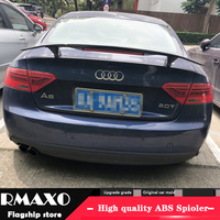 For Audi A5 A7 Spoiler 2014 2018 Audi A5 A7 TF High Quality Spoiler ABS Material Car Rear Wing Primer Color Rear Spoiler