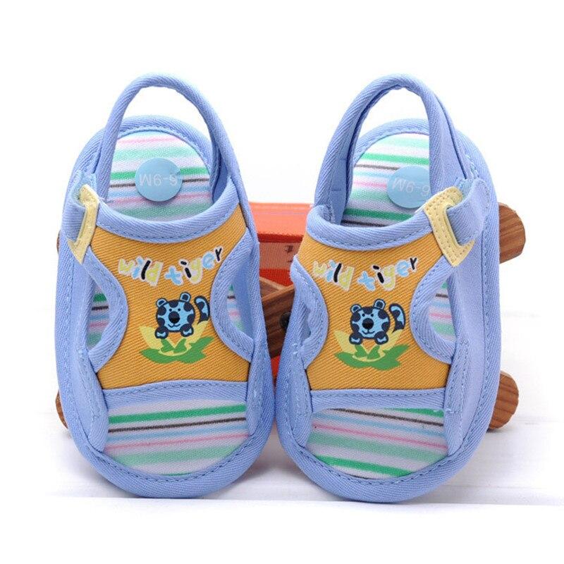 2017 Del Verano Del Bebé Zapatos Primeros Caminante Suaves del Bebé Niños Zapati