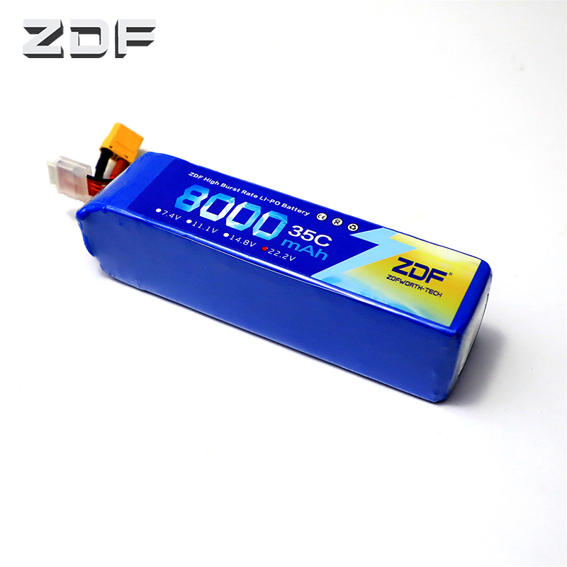 ZDF Bateria AKKU 6S 22.2V 8000mAh 35C max 70C LiPo Battery Traxxas for RC Helicopter Airplane Car BoatZDF Bateria AKKU 6S 22.2V 8000mAh 35C max 70C LiPo Battery Traxxas for RC Helicopter Airplane Car Boat