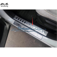 Free shipping For Mazda CX 5 CX5 CX 5 stainless steel scuff plate inside door sill 4pcs/set high quality