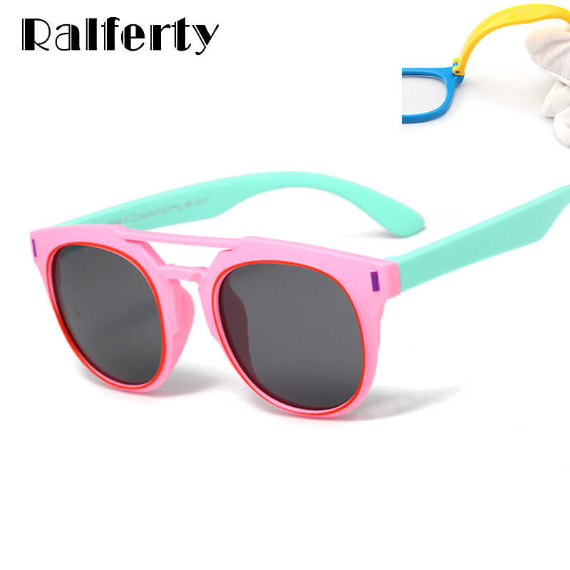 7249db4ba5 Ralferty 2018 Ultra-light Flexible Kids Sunglasses Polarized Girls Boy Sun  Glasses UV400 Child Eyewear