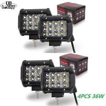 Led Spotlight Auto Lighting 36W 4Pcs