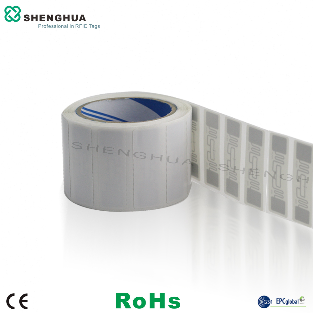 High Quality Adhesive Customized Barcode Printable RFID Blank Paper UHF Label