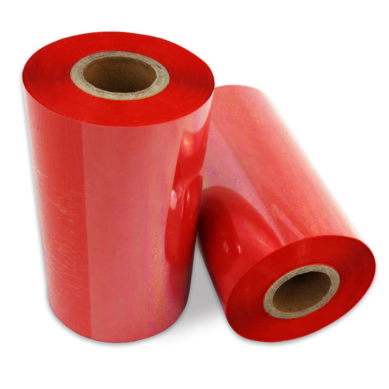 110x300m red color thermal transfer ribbon for zebra  avery