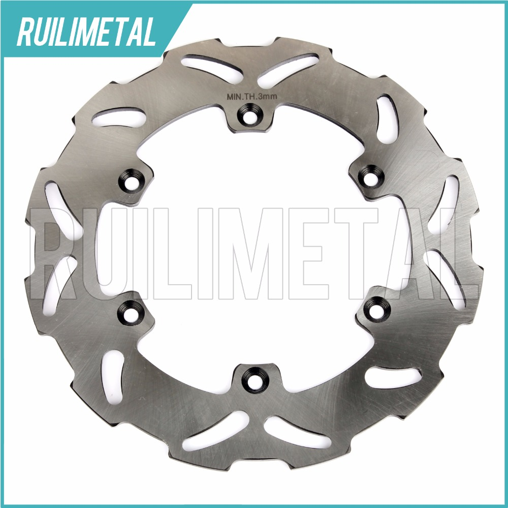 Rear Brake Disc Rotor for SUZUKI RM 125 250 T RMX RMX250 S  DRZ E  400 2000 2001 2002 2003 2004 2005 2006 2007 2008 2009 2010