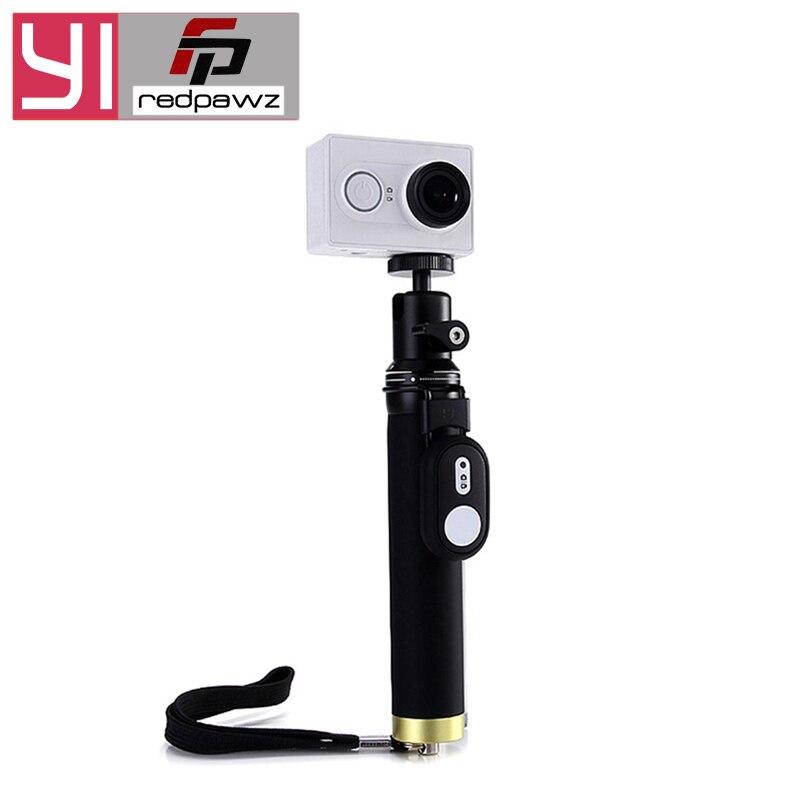 Original Pour Xiaomi YI Selfie Bâton + Bluetooth À Distance Contrôleur Pour Universel Yi D'action Caméra Alliage Action Sports Caméra