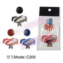 Free Shipping Golf Ball Markers Golf Hat Clips Golf Cap Clips Wholesale Price