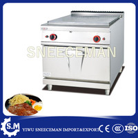 commercial gas griddle flat grill for hotel and kitchen