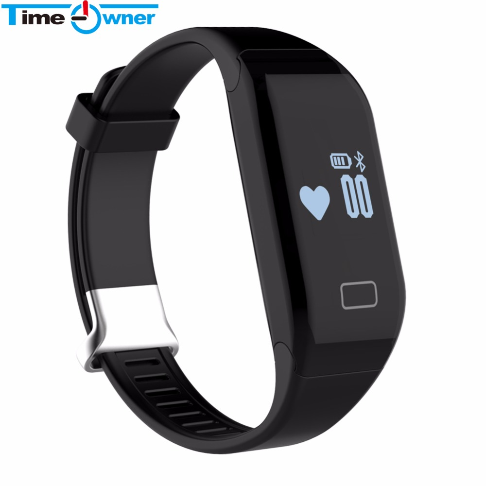 TimeOwner H3 Fitness Tracker Smart Bracelet Heart Rate Monitor Smart Wristband P