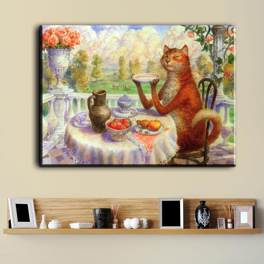 Xdr550 Vladimir Rumyantsev mariposa con el mundo del gato pintura al ...