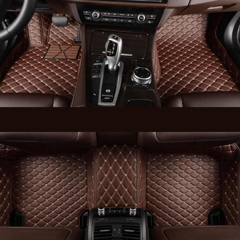 Kalaisike tapis de sol de voiture personnalisés pour Volvo tous les modèles v40 v60 xc60 xc90 s60 s80 c30 s40 accessoires de voiture de style
