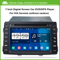 7 Inch 1024 600 Multi Touch Capacitive Touch Screen Android Car DVD GPS For Kia Sorento