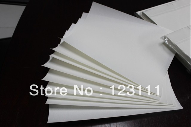 100 sheets A4 size heat tansfer paper sublimation paper for Rioch GX3000S,GX3000,GX2500,GX2050N,GC21: GX7000;   GC31 GX e7700