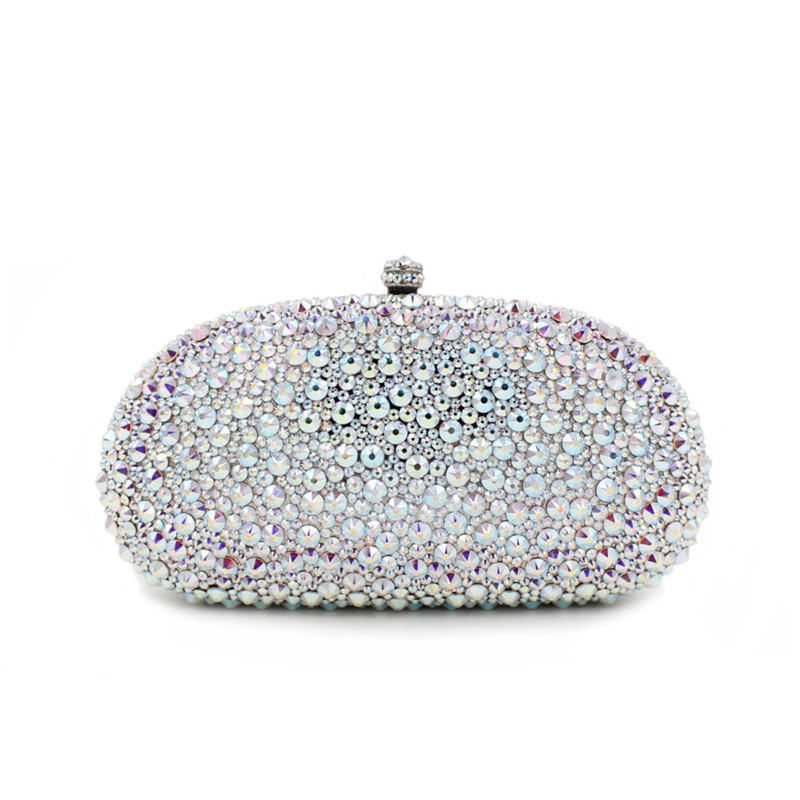 Fashion luxury rhinestone evening bags banquet Diamonds woman day clutch new arrive female handbag bridal evening bag