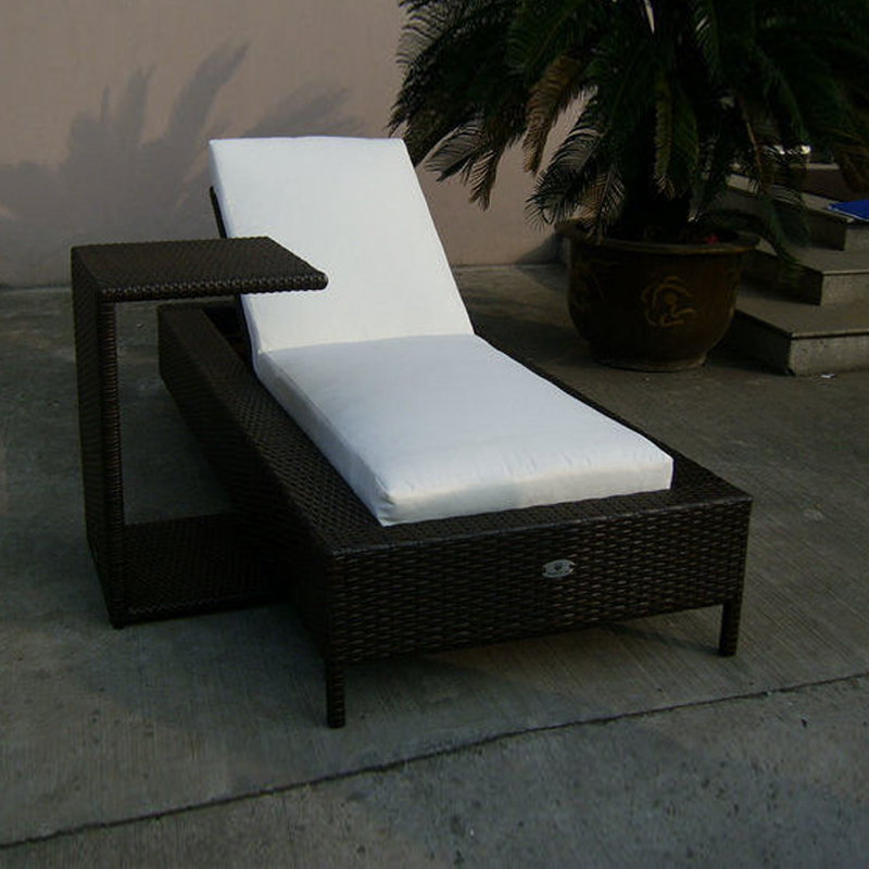 Wicker Lounge Chair Styling Chairs For Sale Cheap 2pcs Rattan Sun Lounger Set Folding Beach , Outdoor Garden Chaise ...