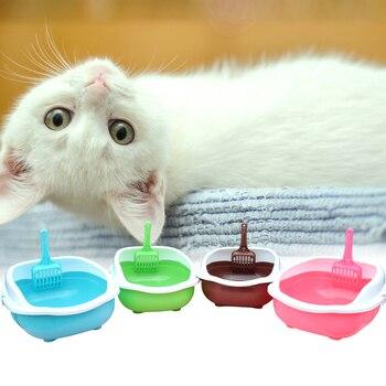 Semi-open Cat Toilet + Scoop 3