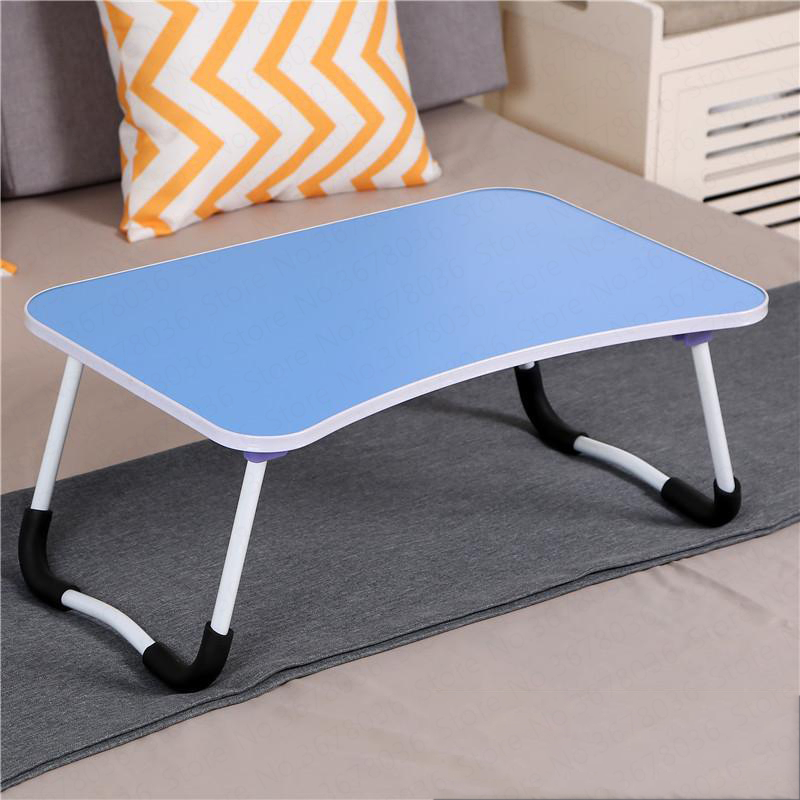 Bed Folding Small Table Dormitory Student Student Laptop Desk Multi-function Bracket Table Bedroom Lazy Folding Desk