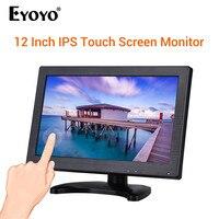 EYOYO HDMI display 11.6 IPS 1920*1080 HD Touch Screen Monitor Display Screen VGA For PC CCTV 1080p monitor