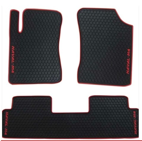 no odor latex carpet special waterproof non slip rubber car floor mats for Great Wall Ha ...