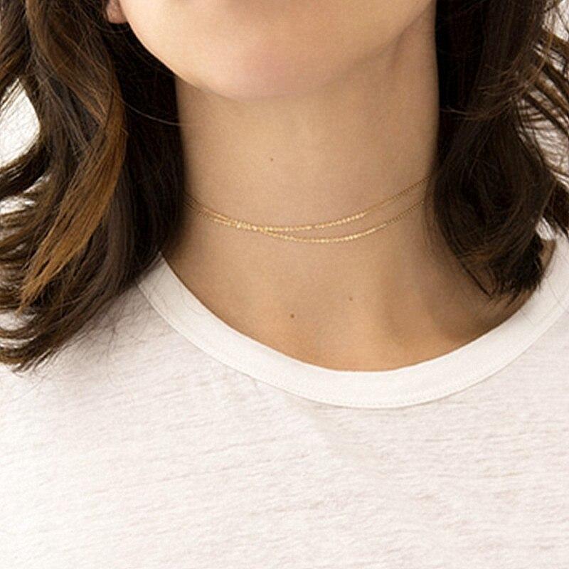 H26 Новая мода сердце лист луна кулон ожерелье из хрусталя женские праздничные пляжные массивные ювелирные изделия - Окраска металла: x262-Gold