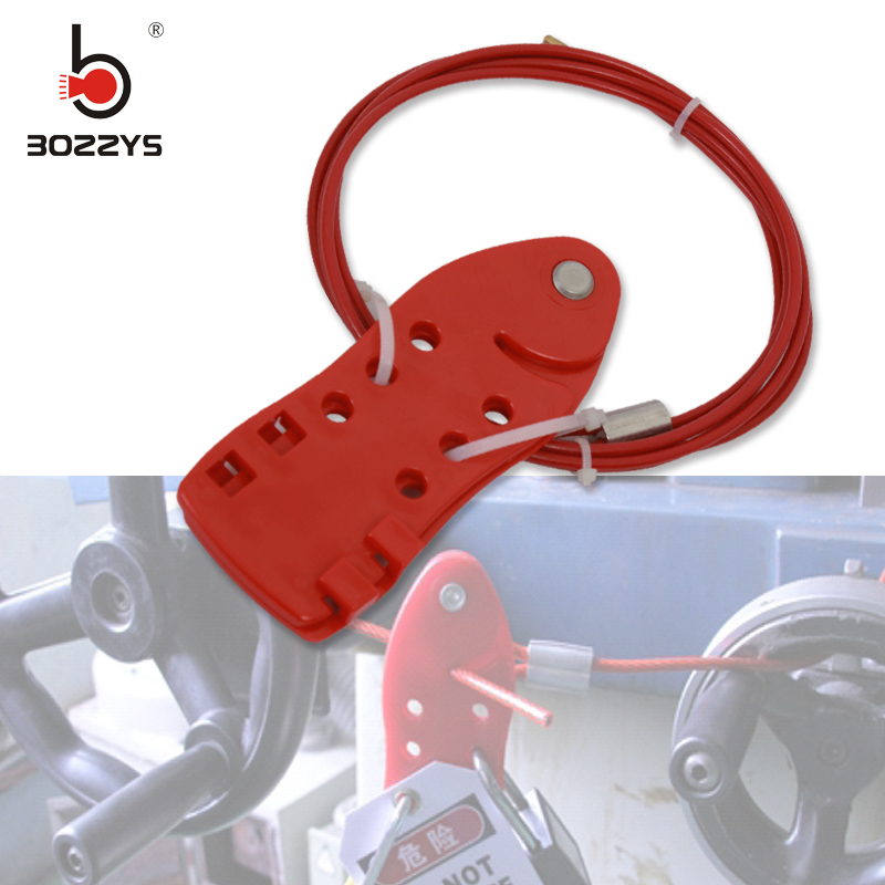 Industrial fish safety cable lock cable lock LOTO Lock lock for shutdown Stainless steel cable with 6 padlocks BD-L21 Замок
