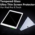 Transparente de Vidrio Templado para iPad Pro 9.7 pulgadas Protector de Pantalla Templado Ultra Fina Película Protectora Delantera Delgada Envío Libre