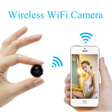 Mini Wifi IP Camera HD 1080P Infrared Night Vision Micro Network Camcorder Charge While Recording Recording Video Voice Car DV cheap Smarcent 1080P (Full-HD) CMOS PK SQ11 MicroSD TF WIfi mini camera android ios 33*33*33mm 2hours 12 LED Light 64G TF Card